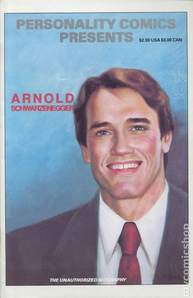 Arnold Schwarzenegger Personality Comics Presents  *NM*  (1991)
