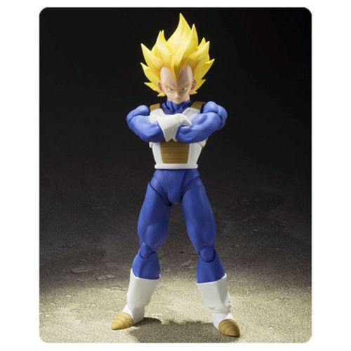 Dragon Ball Z Super Saiyan Vegeta SH Figuarts Action Figure !!!!