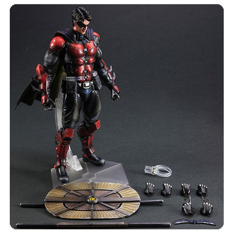 Batman Arkham Origins Robin Play Arts Kai Action Figure 10 -Inch  * Buy  Now *  In Stock !!!