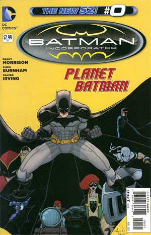 Batman Incorporated # 1  Andy Kuder Variant Cover  # 0 *NM*  (2012)     In Stock !!!!