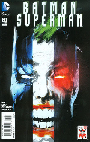 Batman & Superman  # 21 Joker Variant  CVR  NM !!!!!   In Stock