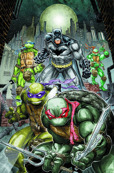 Batman Teenage Mutant Ninja Turtles #1 Cover A Freddie E Williams II