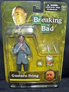 Breaking Bad Gustavo  Fring 6-Inch Action Figure  Collectibles * In Stock * NIB