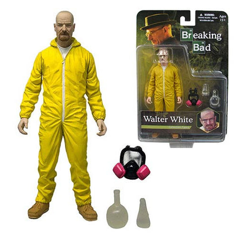 Breaking Bad Walter White Hazmat Suit 6-Inch Action Figure* In Stock * NIB