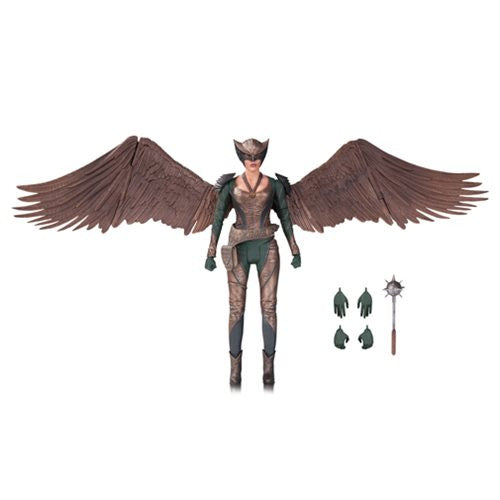 DC's Legends of Tomorrow Hawkgirl Action Figure. Coming in March 2017