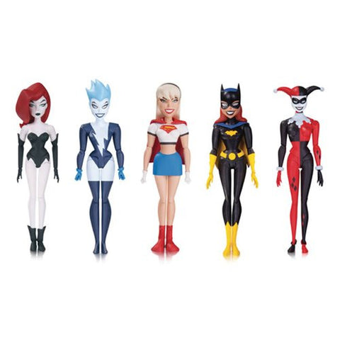 Batman The New Batman Adventures Girls' Night Out Action Figure 5-Pack *NIB * Pre-Order March -2017