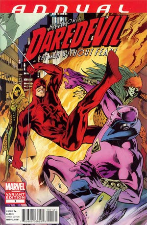 Daredevil Vol 3 Annual #1  Alan Davis Variant Cover