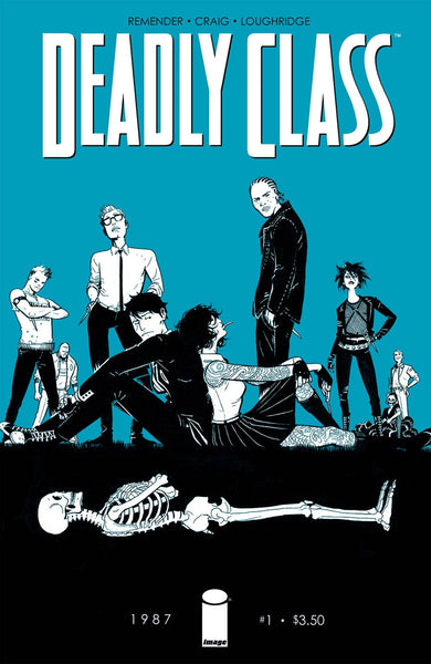 Deadly Class  Cover *NM*  TV Show !!!