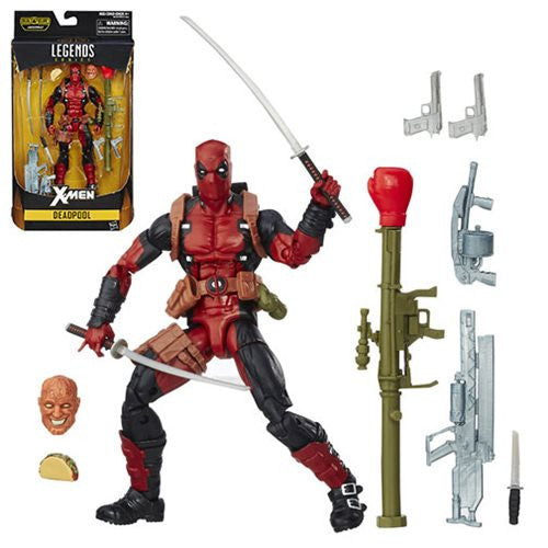 X-Men Marvel Legends 6-Inch Deadpool Action Figure.* NIB * !!!!