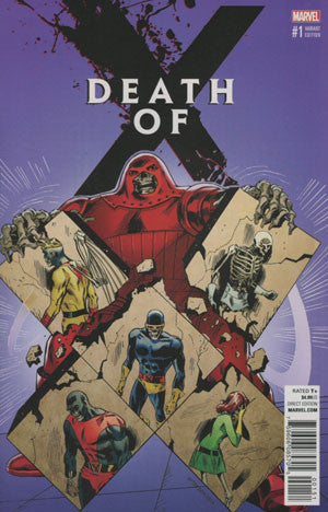 Death Of X #1 Cover C Variant Classic Cover * NM* !!!!