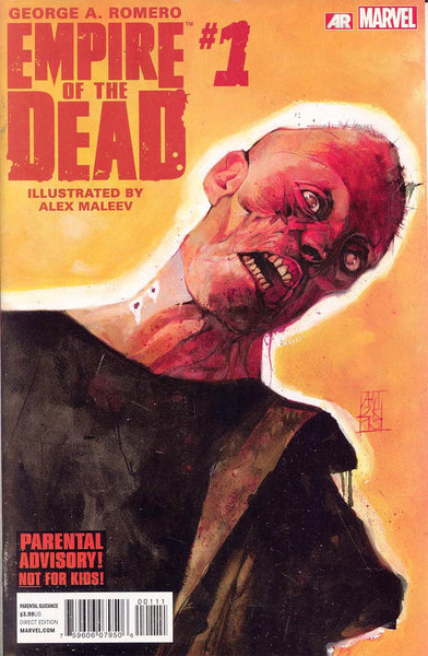Empire Of The Dead  #1 Act One George Romero 1st PTG NM  *TV Show Coming in 2016 *