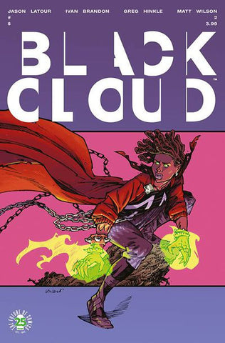 Black Cloud # 2 Cover B - Spawn Month Variant Cover Edition) Pre-Order 05-10-17