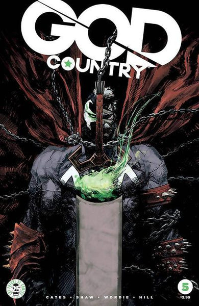 God Country #5 (Cover C - Spawn Month Variant Cover Edition)  Pre-Order 05-17-17