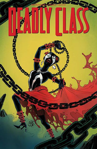 Deadly Class #28 (Cover C - Spawn Month Variant Cover Edition)   Pre-Order 05-24-17