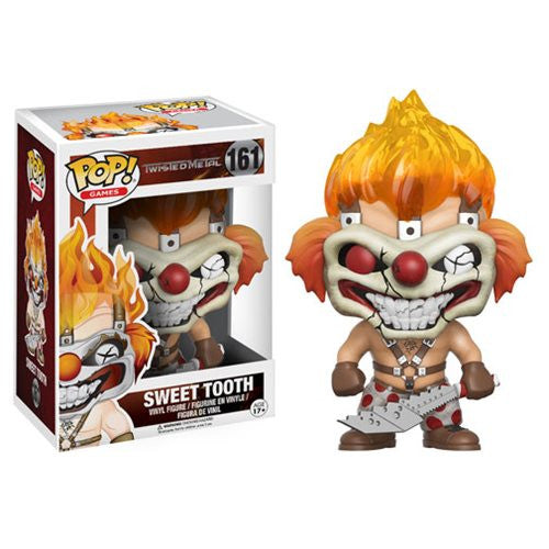 Twisted Metal Sweet Tooth Pop! Vinyl Figure Pre-Order Febuary - 2017