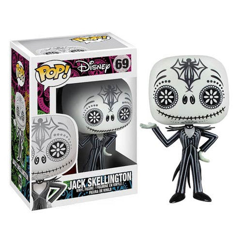 Nightmare Before Christmas Jack Skellington Day of the Dead Pop! Vinyl Figure