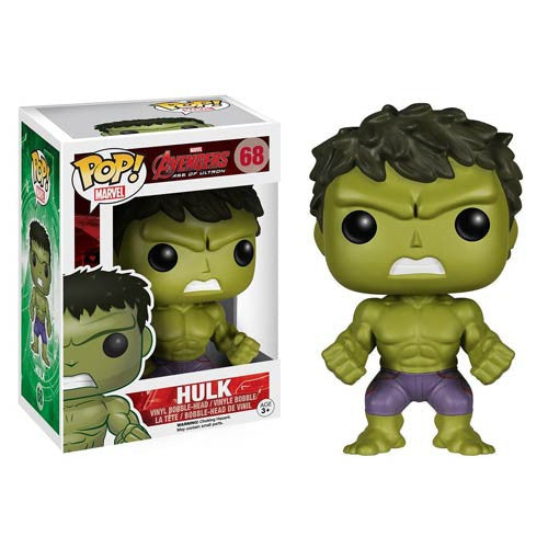 Avengers Age of Ultron Hulk Pop! Vinyl Bobble Head Figure ..