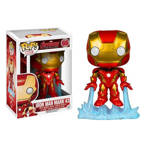 Avengers Age of Ultron Iron Man Pop! Vinyl Bobble Head Figure..