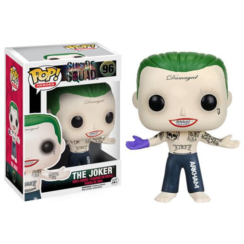 Suicide Squad Shirtless Joker Pop! Vinyl Figure * Pre-Order Coming in July -2016*
