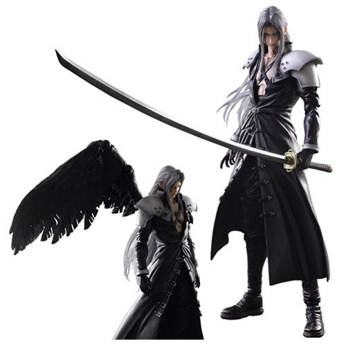 Final Fantasy VII Advent Children Sephiroth  Arts Kai Action Figure. * NIB * Out Of Stock!!!!!