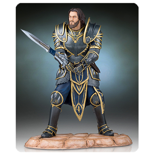 Warcraft  Lothar  Statue  Movie Coming in  * Nov- 2016*  Pre-Order Now  !!!