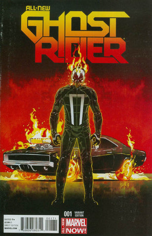All-New Ghost Rider Cover D  Incentive Felipe Smith Vehicle Variant Cover     * 03/26/2014 *