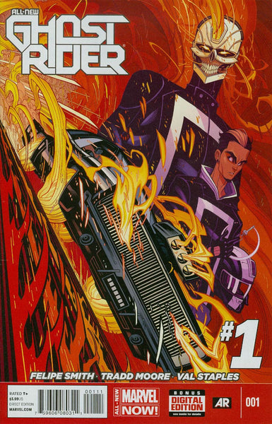 All-New Ghost Rider #1 Cover A 1st Ptg Regular Tradd Moore Cover     * 03/26/2014 *