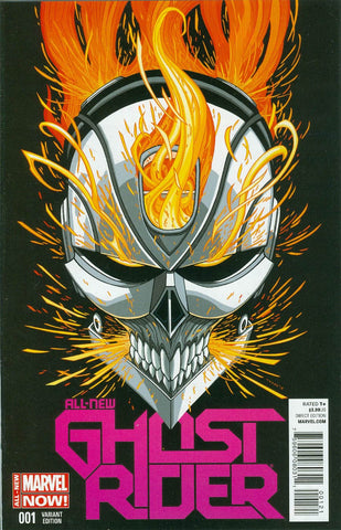All New Ghost Rider # 1 Retail Variant Cover 1:50 Robbie Reyers * NM TV Show     * 03/26/2014 *