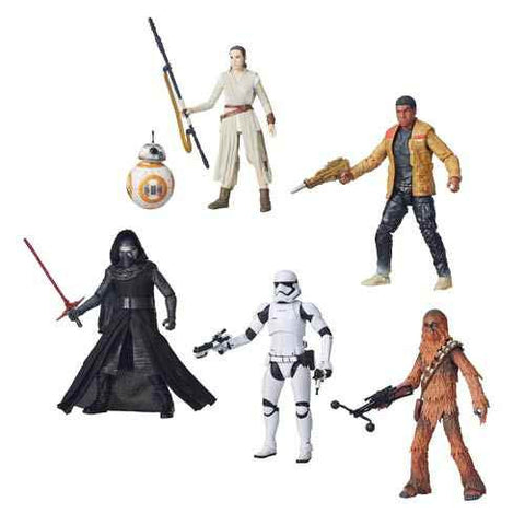 Star Wars  Epsidoe Vll -The Force Awaken Black Series Case Wave 1  6-Inch  AF * Pre-Order  Now *
