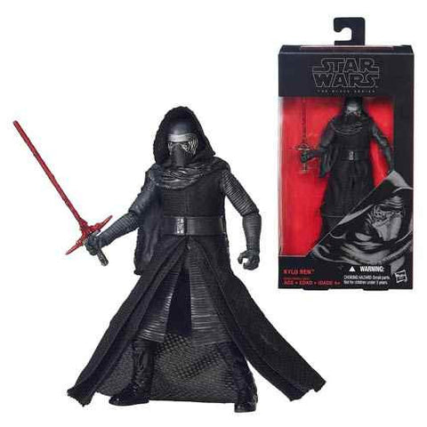 Star Wars  Epsidoe Vll -TFA  Kylo Ren Black Series  6-Inch Action Figures  * Reserve Your Copy *