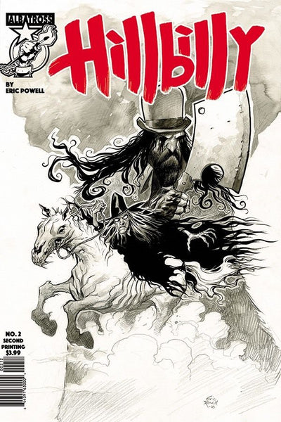 Hillbilly # 2  Second  Print NM  !!!