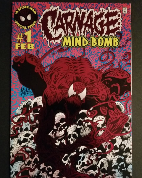 Carnage Mind Bomb # 1 * NM+ *  Foil CVR / Hot !!!!  Out of Stock...