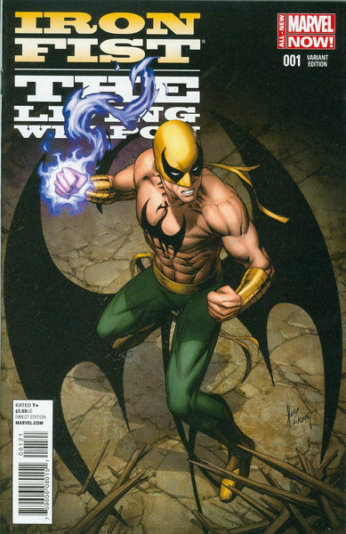 Iron Fist Living Weapon #1 Dale Keown Variant Cover  * NM *