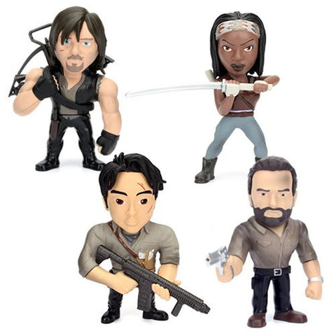 Walking Dead 4-Inch Die Cast Action Figure Case Coming Pre-Order Jan-17