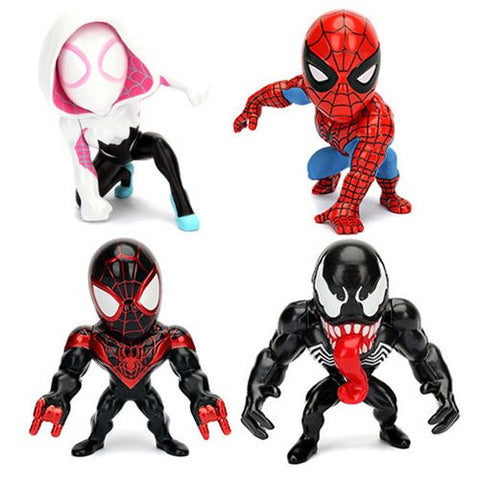 Spider-Man 4-Inch Die Cast Action Figure Case. OUT OF STOCK  !!!!!