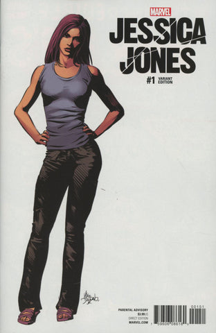 Jessica Jones #1 Cover F Incentive Mike Deodato Jr Teaser Variant Cover  In Stock !!!!