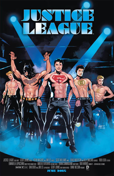 Justice League Vol 2 # 40 Cover B Variant Magic Mike WB Movie Cover *NM*  (2015)