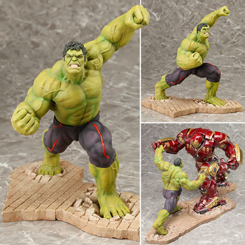 Avengers 2 Age of Ultron Movie  Hulk  ArtFX Statue.  Sold Out !!!