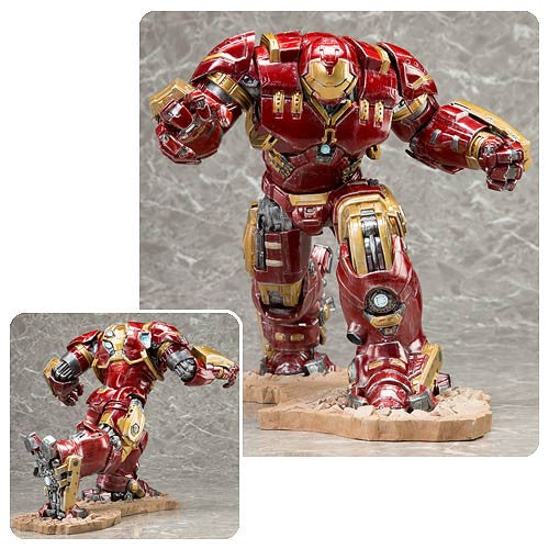 Avengers Age of Ultron Hulk Buster Iron Man Mark 44 ArtFX Statue..  Sold Out !!!