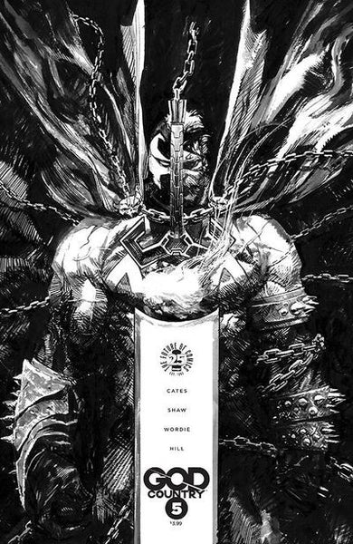 God Country #5 (Cover C - Spawn Month B & W Variant Cover Edition)  Pre-Order 05-17-17