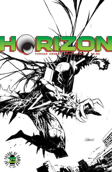 Horizon #11 (Cover B - Spawn Month Variant B & W Cover Edition)  Pre-Order 05-17-17