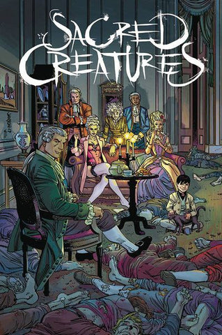 Sacred Creatures #1 (Cover B -Janson)  Pre-Order 07-05-17