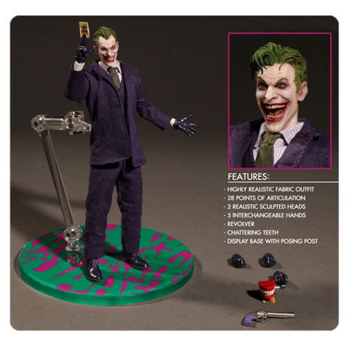 Batman The Joker One :12 Collective Action Figure  Pre-Order April - 2017