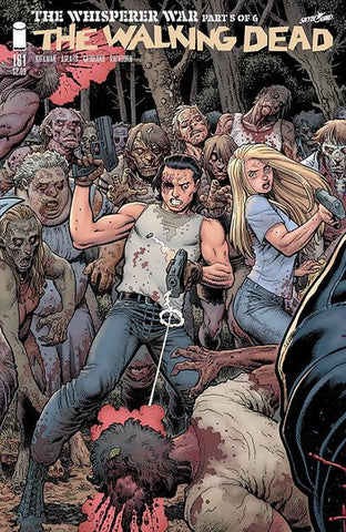 Walking Dead # 161 (Connecting Cover Part 5 - Adams & Fairbairn)   NM  !!! Pre-Order Coming Dec-07-16
