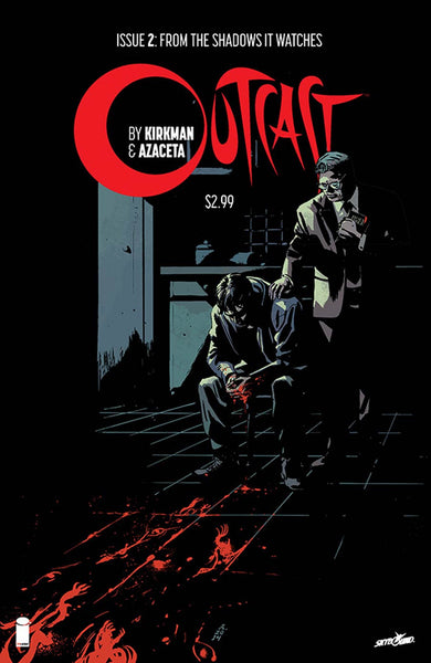 Outcast By Kirkman & Azaceta # 2 Cover A 1st Ptg Regular CVR  Hot TV Show !!!