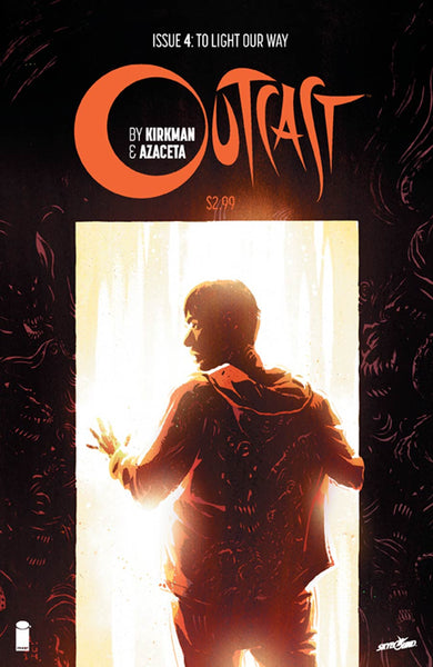 Outcast By Kirkman & Azaceta # 4  Cover A 1st Ptg Regular CVR  Hot TV Show !!!