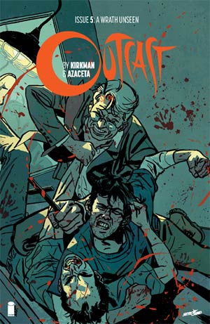 Outcast By Kirkman & Azaceta # 5  Cover A 1st Ptg Regular CVR Hot TV Show !!!!