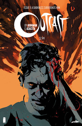 Outcast By Kirkman & Azaceta #1 Cover A 1st Ptg Regular CVR  Sold Out  !!