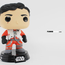 Funko Pop! Star Wars POE DAMERON No Helmet  Walmart Exclusive 2015 RARE    !! *  NIB   In Stock