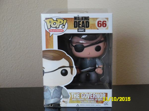 The Walking Dead The Governor  # 66  !!! TV Series 2 / Funko Pop !!!!